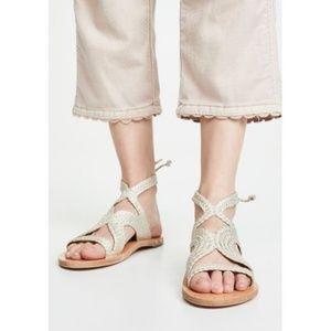 Beek Shoes - $320 BEEK Cuckoo Ankle Tie Sandal NEW 10